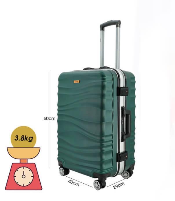 Vali size 24 đựng được bao nhiêu kg
